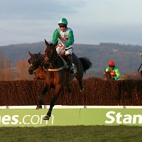 Present View wins the Rewards4Racing Novices' Handicap Chase