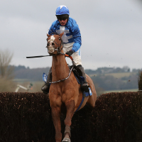 Raz De Maree on his way to wining the Welsh National