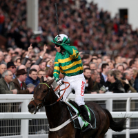 Buveur D'Air winning last year's Champion Hurdle
