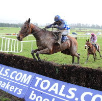 Pairofbrowneyes wins the Leinster National at Gowran Park