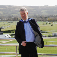 Edward Gillespie during the 2008 Cheltenham Festival