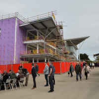 The redevelopment of Wetherby's grandstand